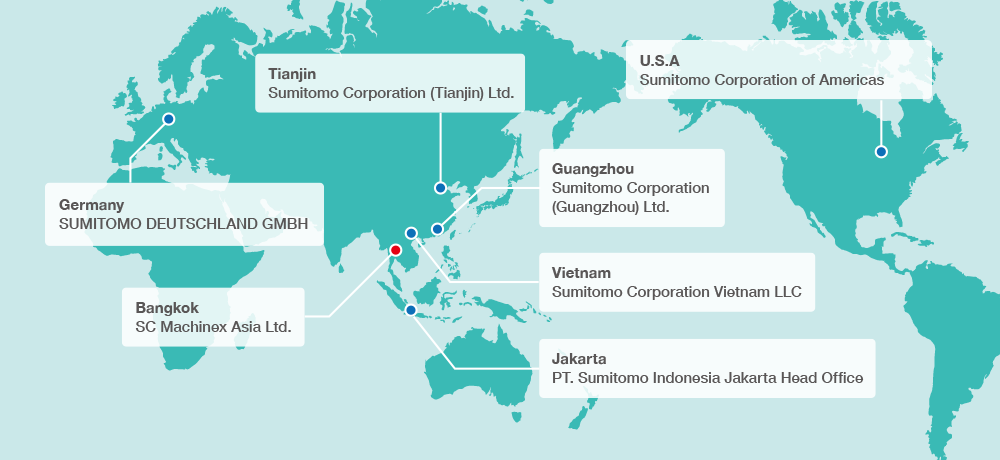 Overseas Offices :: Offices and Group Companies :: About Us